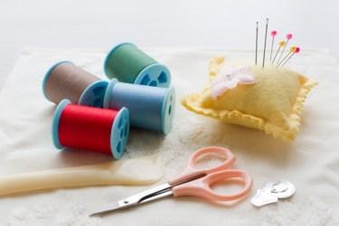 針と糸があればできるニットの裾上げ!手縫いで簡単お直し!