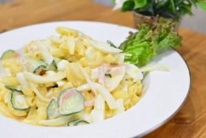 簡単だけど本格的なマカロニサラダの作り方♬お手軽なサラダレシピ