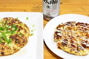 ふわふわでヘルシー♬豆腐とキャベツのお好み焼き★のレシピ