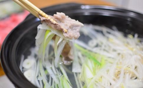 風邪予防鍋♬ネギ豚しゃぶしゃぶのレシピ★