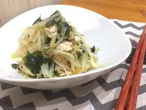 コンビニサラダチキンで野菜たっぷりナムルのレシピ★