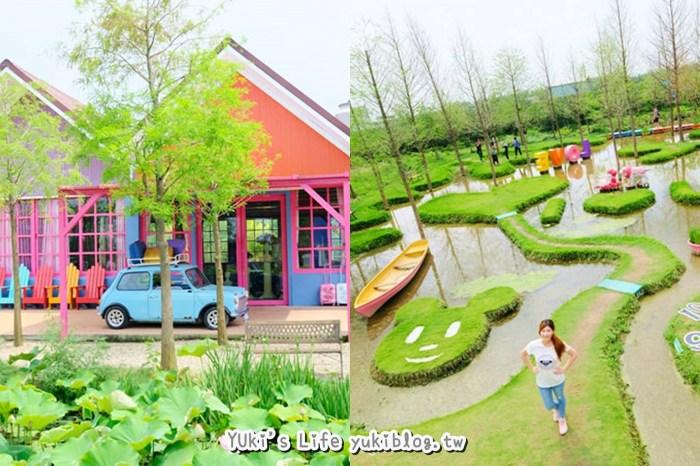 雲林古坑景點【珍粉紅城堡】水漾森林教堂~童話般的夢幻場景超好拍!