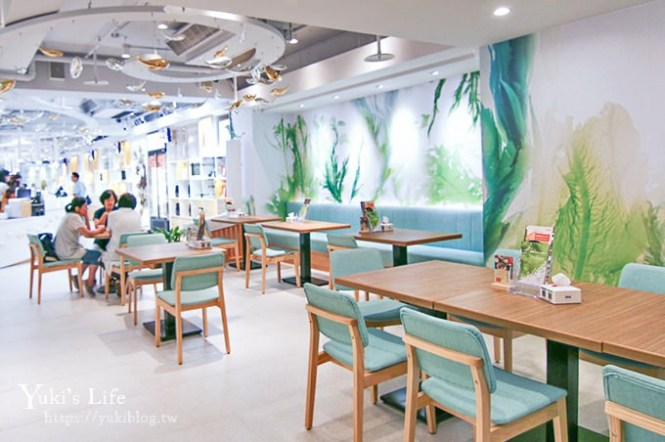 台北親子聚餐【Hi-Q褐藻生活館×鱻食】全台首家褐藻主題餐廳 (捷運南京三民站)
