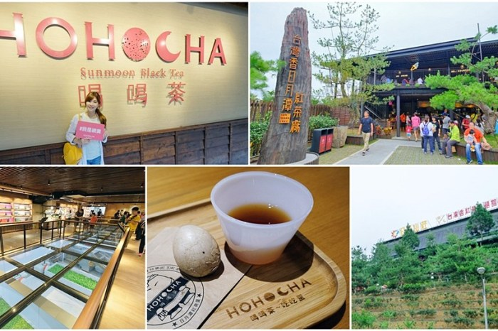 南投日月潭景點【Hohocha喝喝茶】全台最大紅茶觀光工廠好吃好拍又好逛!紅茶茶葉蛋必吃!