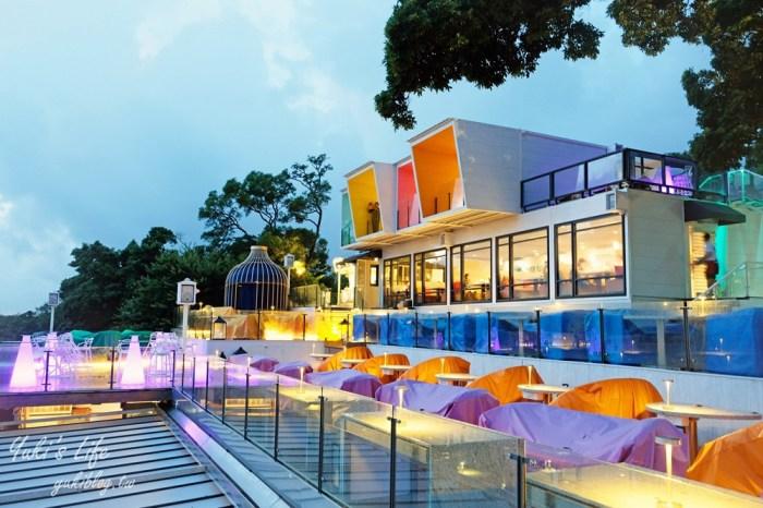 陽明山夜景餐廳【草山夜未眠】全新改版搶訂位了!浪漫旋轉木馬、LED玫瑰燈海