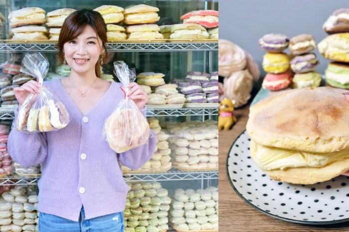 繽紛台式馬卡龍打卡櫥窗太誇張『惠豐麵包店』比臉大馬卡龍真的沒吃過!