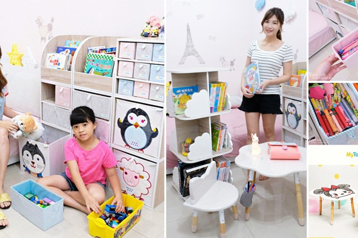 【MyTolek童乐可积木柜】我家就是儿童游戏室x超强收纳法!