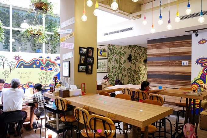 台中美食下午茶【白水木彩紅爺爺主題咖啡】眾多菜色全日都悠閒