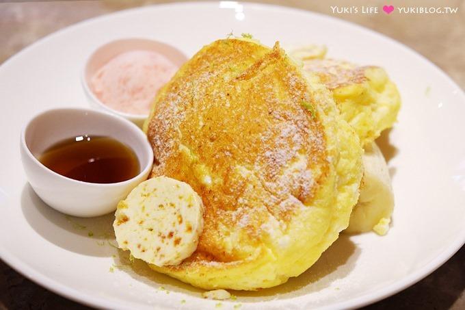 台北東區下午茶【咖朵咖啡Caldo Cafe二店】招牌熱蛋糕搭配蜂蜜奶油是一絕! Yukis Life by yukiblog.tw