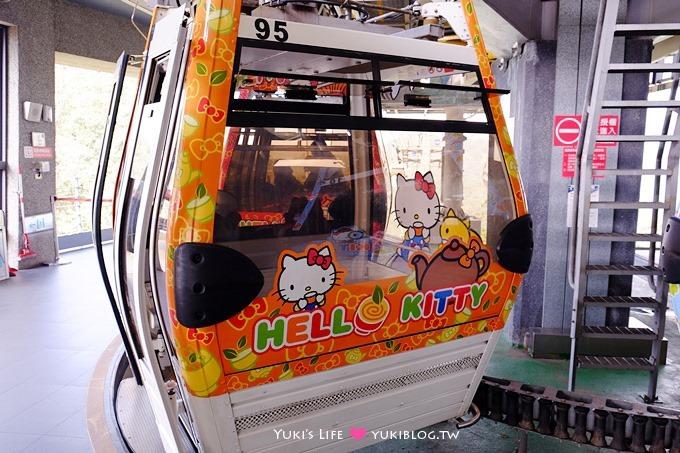 臺北遊記【木柵動物園貓纜一日遊】圓仔+動物園內站免排隊攻略+Hello Kitty貓空纜車+貓空美食 - Yuki's Life