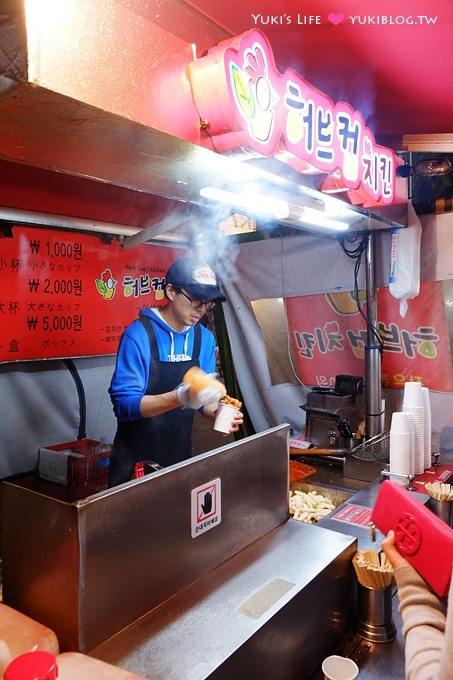 首爾自由行【Herb Cup Chicken杯杯炸雞】便宜好吃韓式炸雞!排隊美食❤梨大小吃 Yukis Life by yukiblog.tw