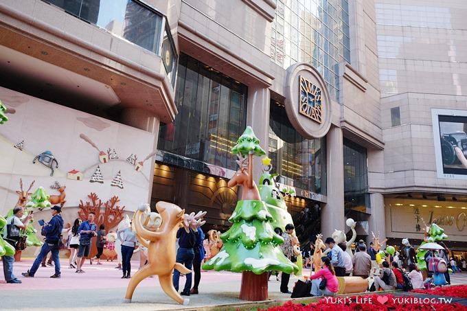 【2013香港聖誕節】銅鑼灣‧時代廣場「趣怪森林」  繽紛冬日節商場裝飾 by yukiblog.tw