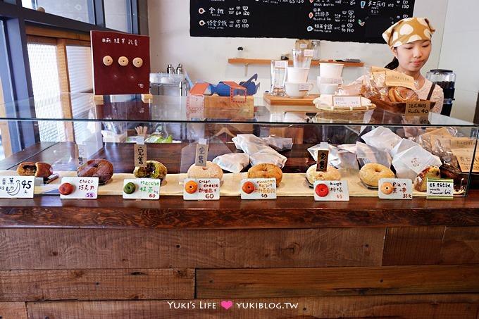 台中美食【Haritts Dounts&Coffee 東京甜甜圈】吃了會感動的可愛甜甜圈、可內用