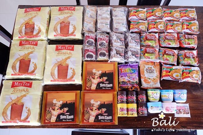 【峇里島必買戰利品】家樂福、Nirmala Market大採購(Indomie印尼泡麵、Max Tea拉茶、LuLuR去角質霜、mini OREO、CHACHA巧克力)→文末送Yuki峇里島明信片