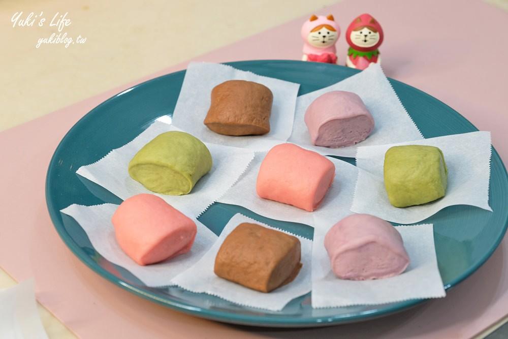親子DIY》彩色鮮奶小饅頭食譜×口罩造型饅頭~簡單揉一揉好吃又好玩! - Yuki's Life