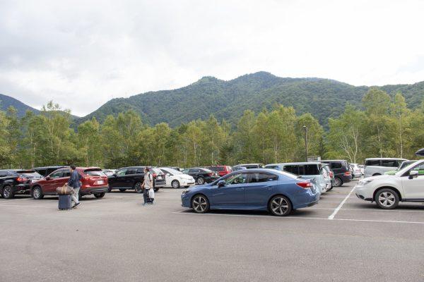 あかんだな駐車場