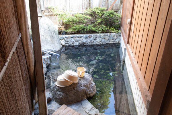 岐山の露天風呂