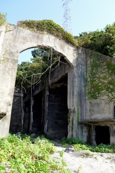 Ruins of the poison gas storehouse