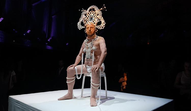 Expositie Mercedes Benz Fashion Week