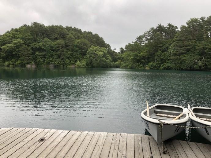 【五色沼】犬と一緒にボートに乗ろう!【毘沙門沼】【福島】 ボート
