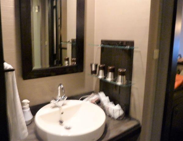 ラビスタ函館ベイホテルの洗面所