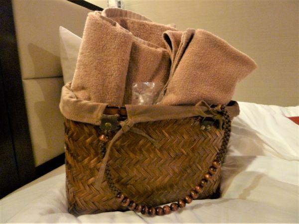 ラビスタ函館ベイホテルの手提げバッグ(カゴ)