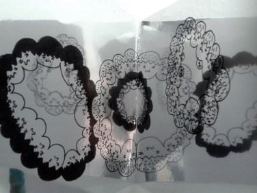 Mirror People: Circles (detail)