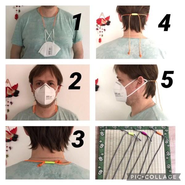 Masken/Brillen Halterung