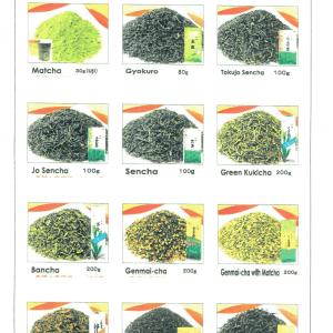 unsere Tee Sorten aus Japan unserer Heimat