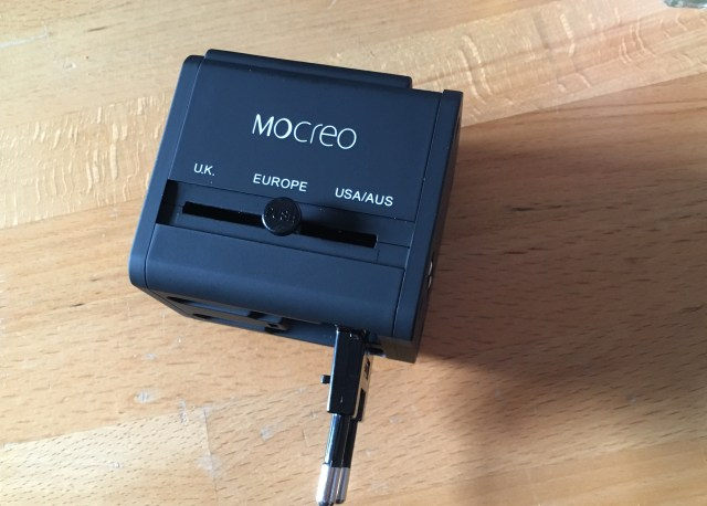 MOCREO®安全旅行充電器 海外旅行用変換プラグ EUROPEの説明2