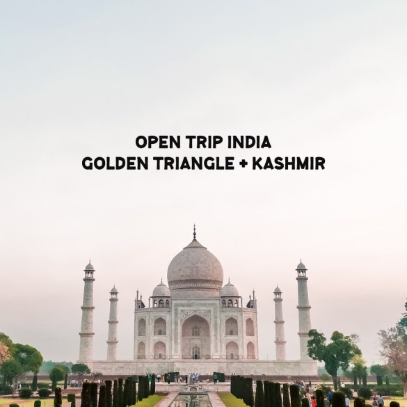 Open Trip India: Golden Triangle + Kashmir