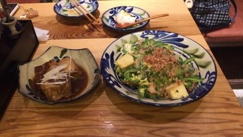 沖縄料理ソーキゴーヤチャンプルー
