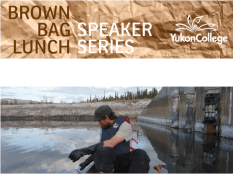 Devon Yacura will talk about PPCPs at the Whitehorse sewage lagoon.