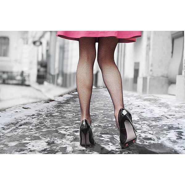 82-0008 Slip Nots Overshoe Traction-Womens Heels