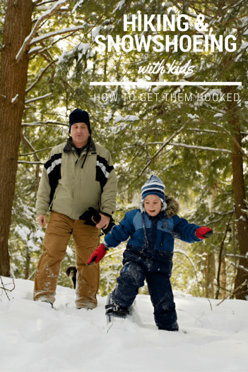 Get your kids hooked on snowshoeing