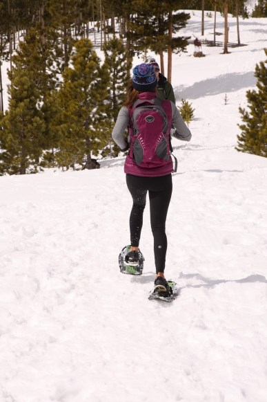 Running in Snowshoes