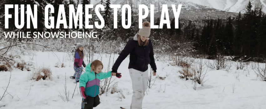 Fun Games to Play While Snowshoeing