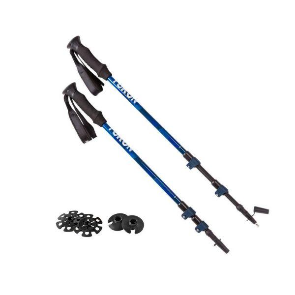 Advanced Snowshoe Hiking Poles BLUE - Yukon Sports FW18-19 Products-001004