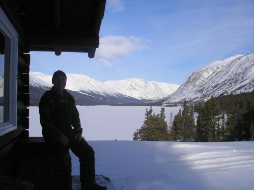 Normand Leroux à Rose Lake