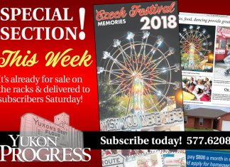 Czech Festival, Yukon Progress, Yukon Review