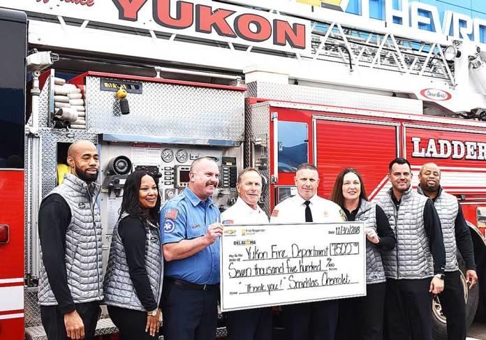 Yukon Fire Department, Yukon Review, Yukon Progress
