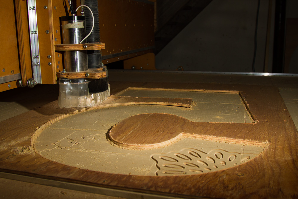 YuKonstruct wishes to thank Tom Bamford for the use his CNC Router