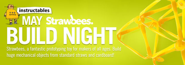 Strawbees Instructables Build Night