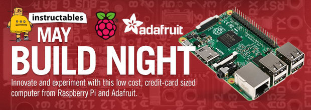 Raspberry Pi 2 – Instructables Build Night