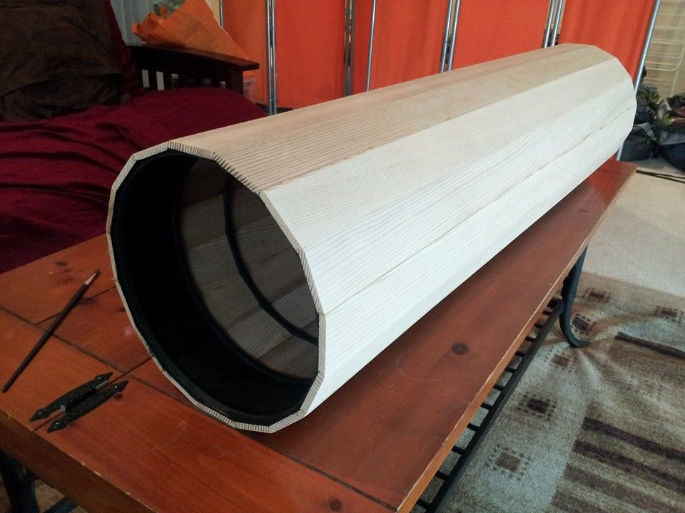 how to build a telescope from scratch