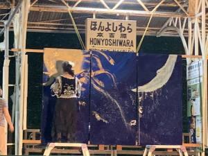 Live Painting  Galaxy Rail Night ライブペィンティング 銀河鉄道の夜