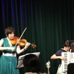 ライブ「パリの空の下」でアイリッシュの曲を演奏しました。