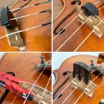 バイオリン いろんなミュートを試し弾きしてみました。
