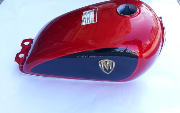 Motoran MT 150 Balancer Yakıt Depsu Kırmızı-Siyah