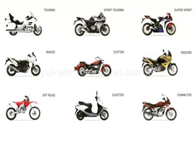Motosiklet-Turleri